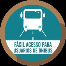 fácil acesso de ônibus - People Campinas - CAmpinas